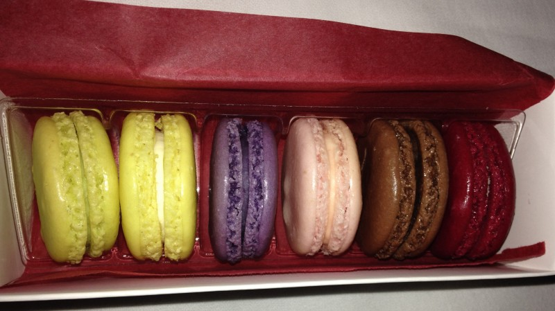So many macaron flavors!
