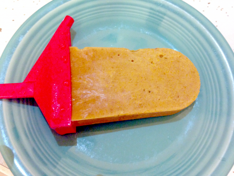 pumpkin pie popsicle